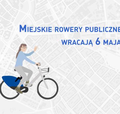 (Polski) 6 maja wraca rower miejski w Koninie